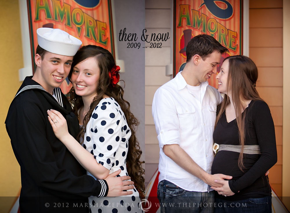 Expecting at Disneyland...{disneyland maternity photography}