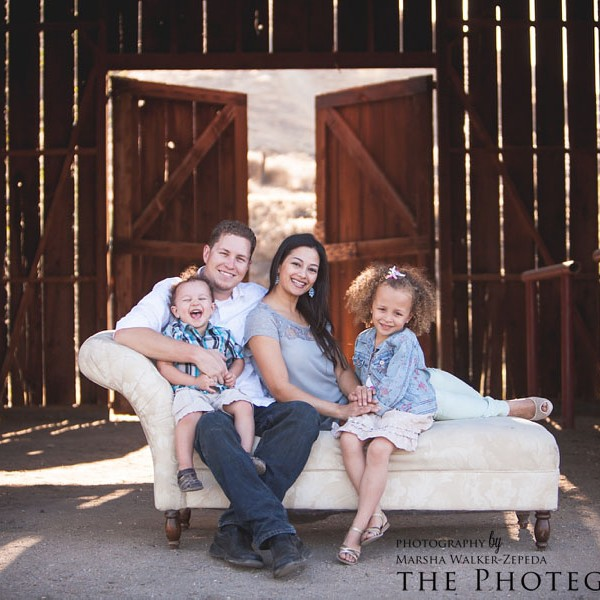 The Campbell Family {bakersfield, california family photography}