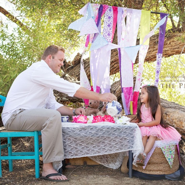 Two for Tea, Daddy & Me {bakersfield, california family photography}