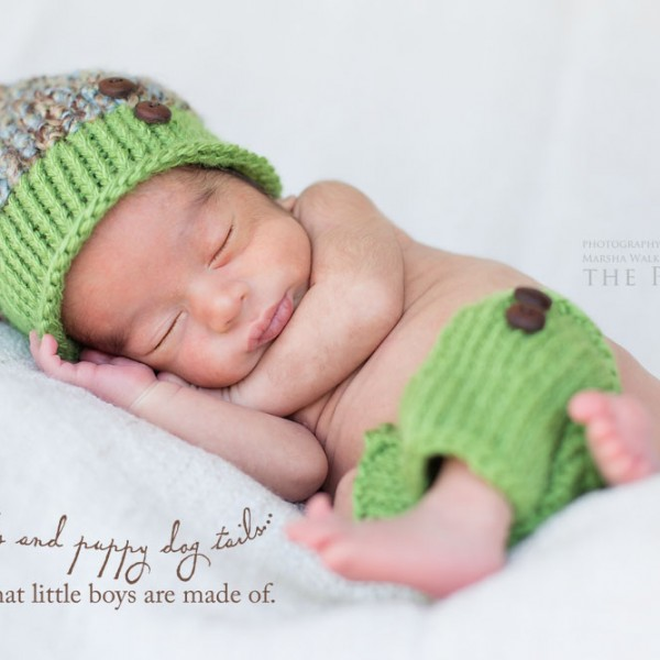Welcome to world, Baby Ivan {bakersfield, california newborn photography}