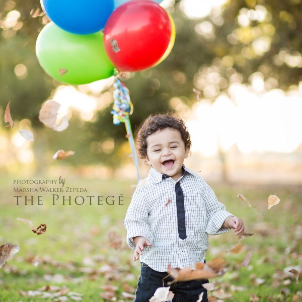 Baby Matthew is ONE! {bakersfield, california baby photography}