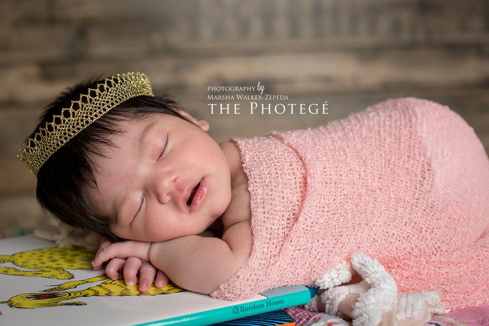 Beautiful baby girl {bakersfield, california newborn photography}
