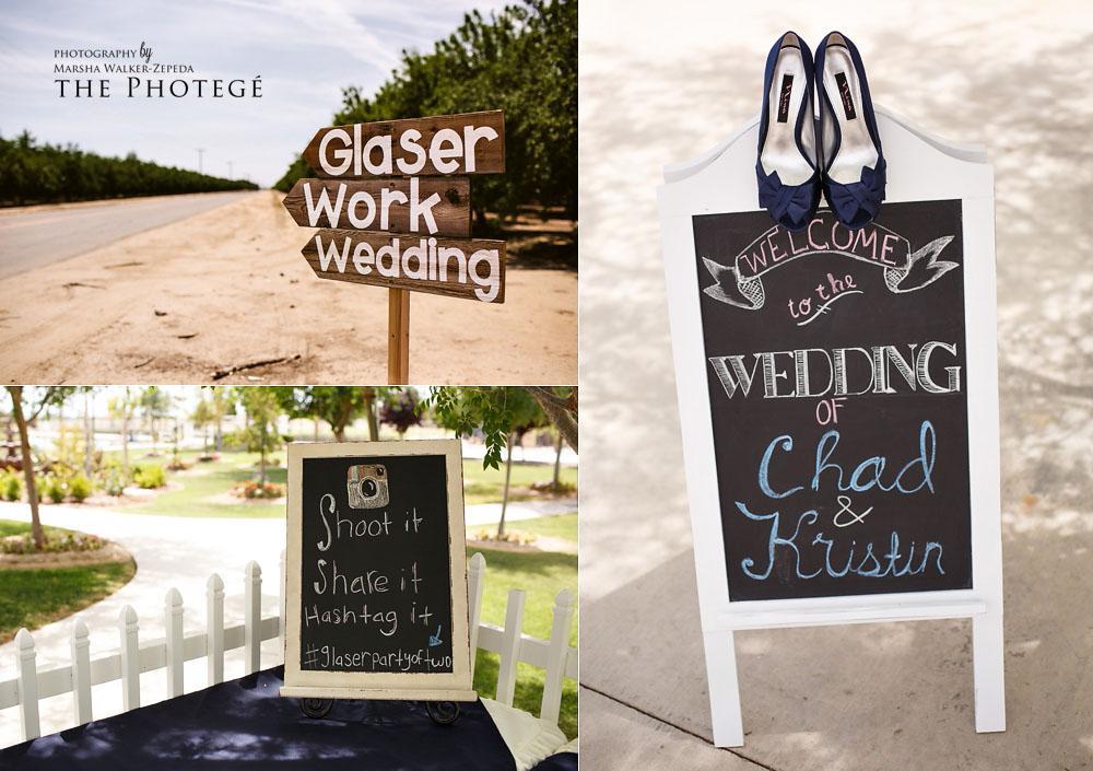 glaser wedding, instagram hashtag, wedding diy