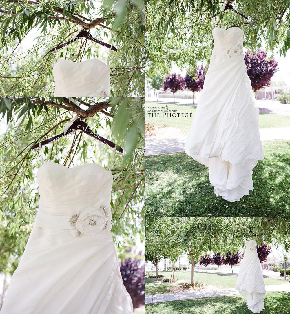 glaser wedding, wedding dress, shafter park place