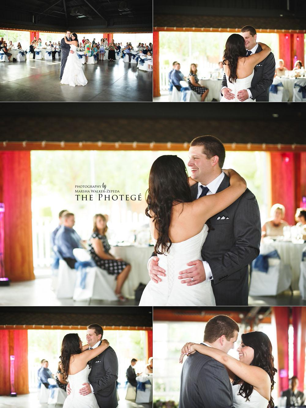 first dance as husband and wife, shafter park place wedding, glaser wedding