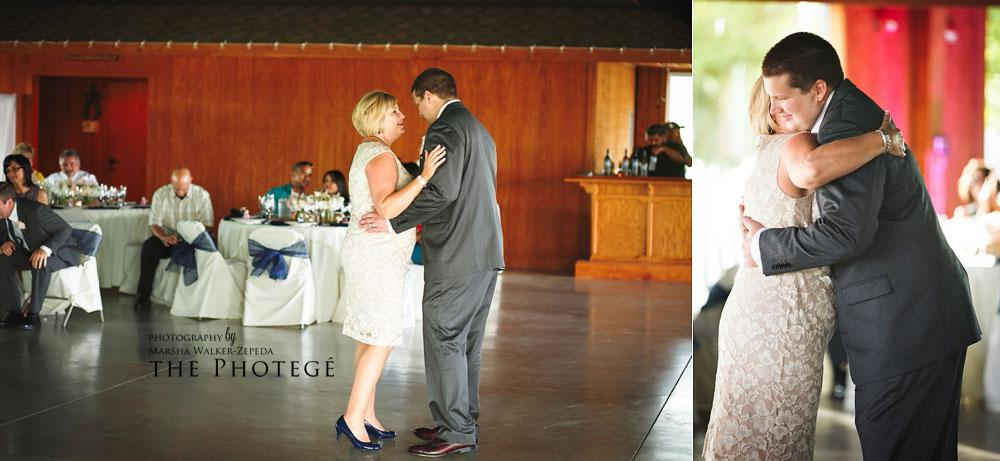 mom and son dance, glaser wedding