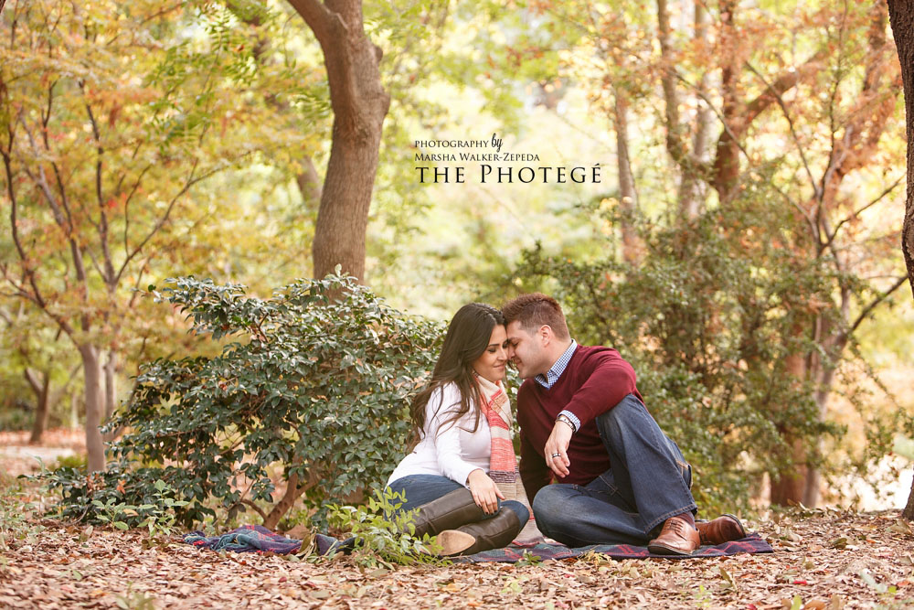 Claudia + Tony = ENGAGED {downtown fresno, california, woodward park, shinzen friendship garden engagement session}