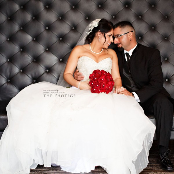 Veronica + Octavio = Married! {bakersfield, california el tango hall wedding}