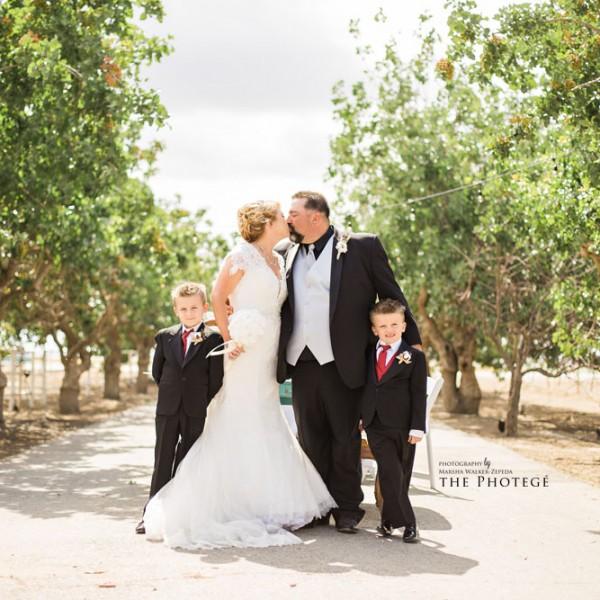 Christine + Gino = MARRIED {bakersfield, california wedding photography}