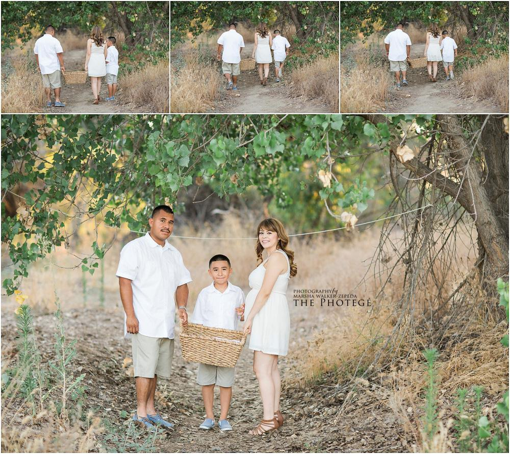 maternity photography, gender reveal