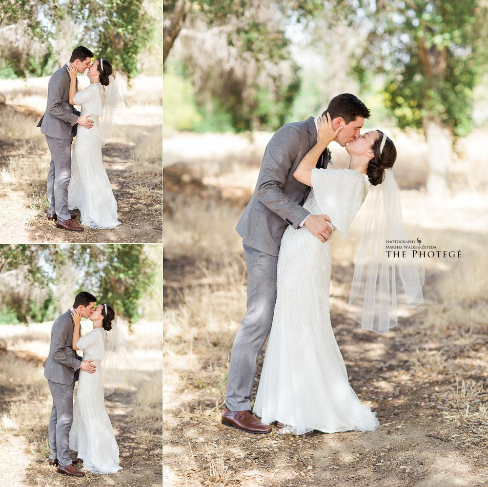 Dreamy rustic wedding portraits