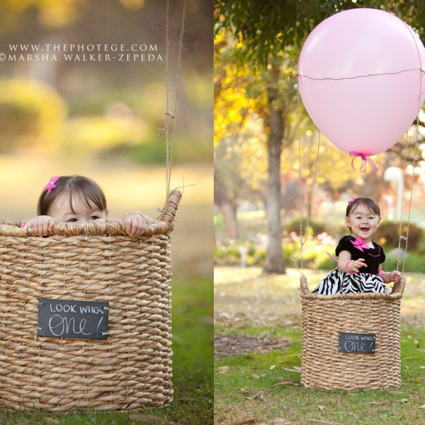 Little Miss K turns one... {bakersfield, ca baby photography}