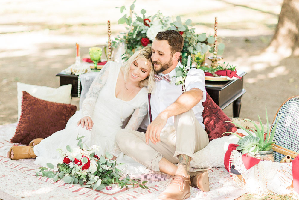 Cassie + Darin = ENGAGED {Bakersfield, California Boho Bride surprise proposal photography}