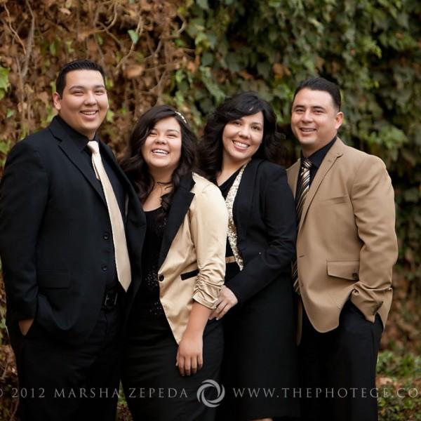 The Villarreal Family {bakersfield, california family photography}