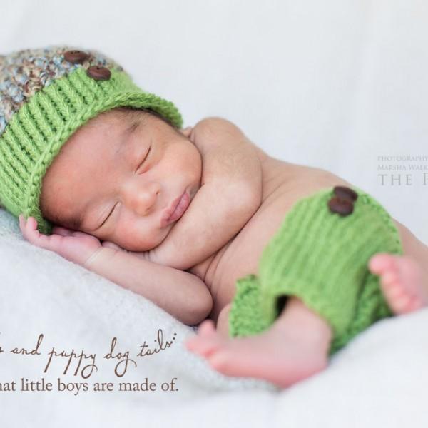 Welcome to world, Baby Ivan {bakersfield, california newborn photography}