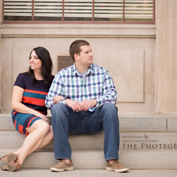 Kristin + Chad = ENGAGED! {bakersfield, california engagement photography}