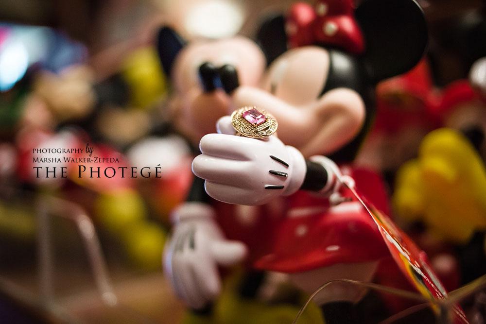 Gene + Deanna = Engaged! A sweet Disney engagement {disneyland, california engagement session}