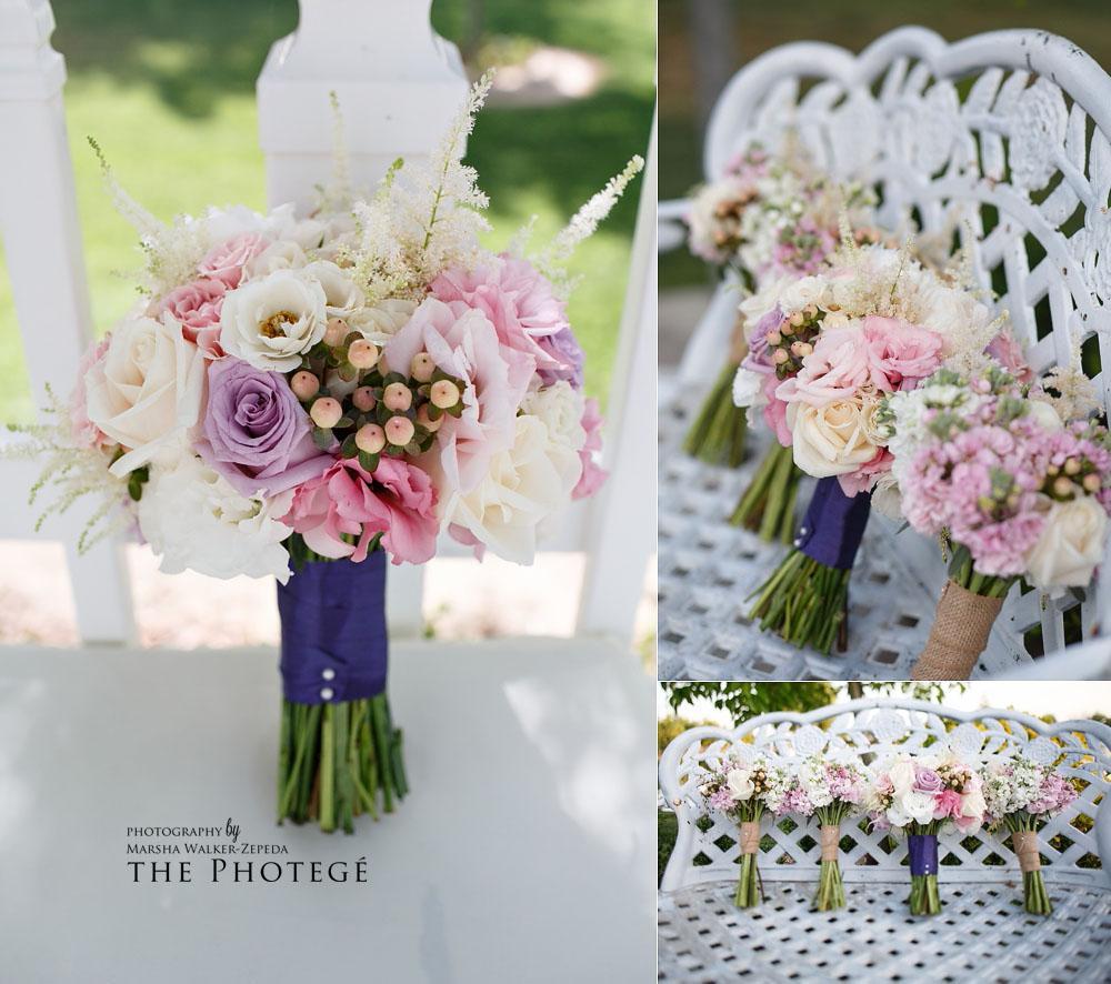 bridal bouquet, details, shafter park place