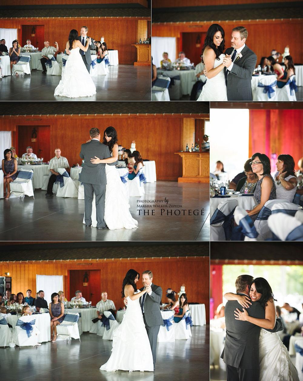 father daughter dance, glaser wedding