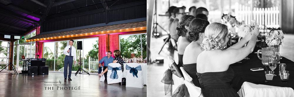 toast, glaser wedding