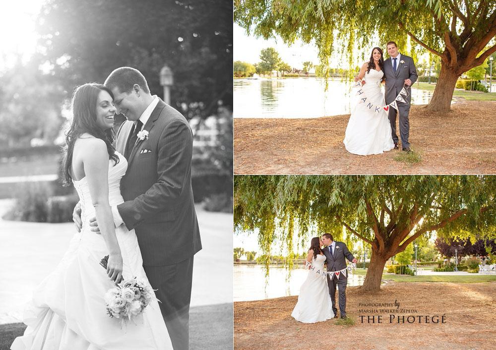 thank you, beautiful wedded couple