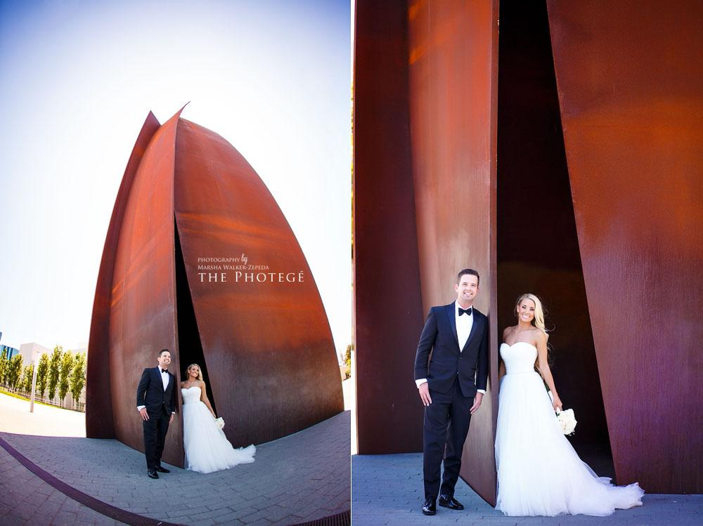 first look, costa mesa wedding