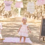 baby girl turns one, california orchards