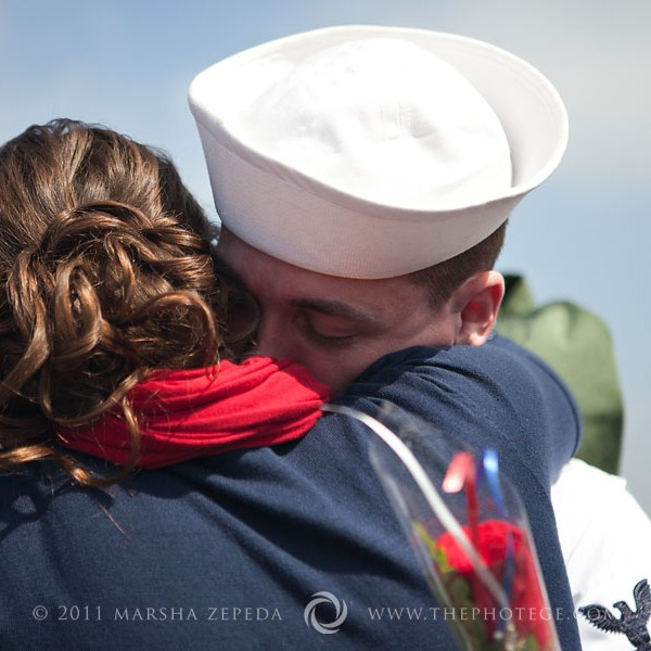 Welcome home, Andrew! {U.S. Navy homecoming, san diego, california photography}