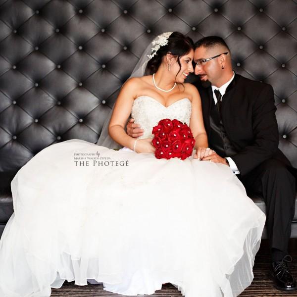 Veronica + Octavio = Married! {bakersfield, california el tango hall wedding}