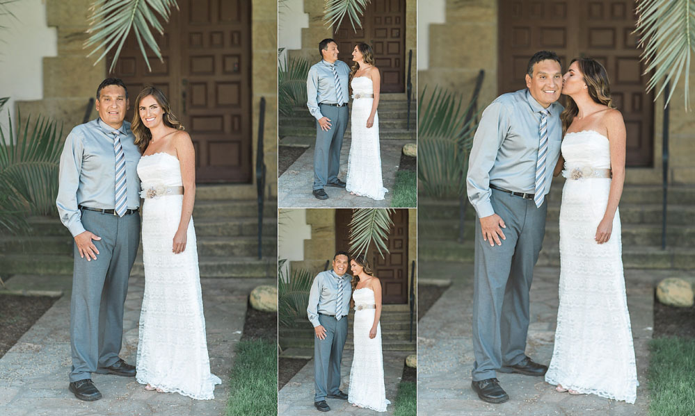 Intimate Santa Barbara Courthouse Wedding on the Rotunda Lawn by The Photege
