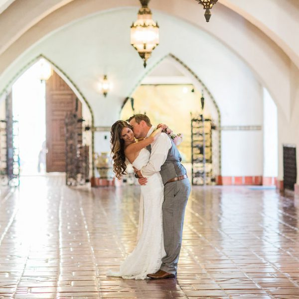 Intimate Santa Barbara Courthouse Wedding Photographer