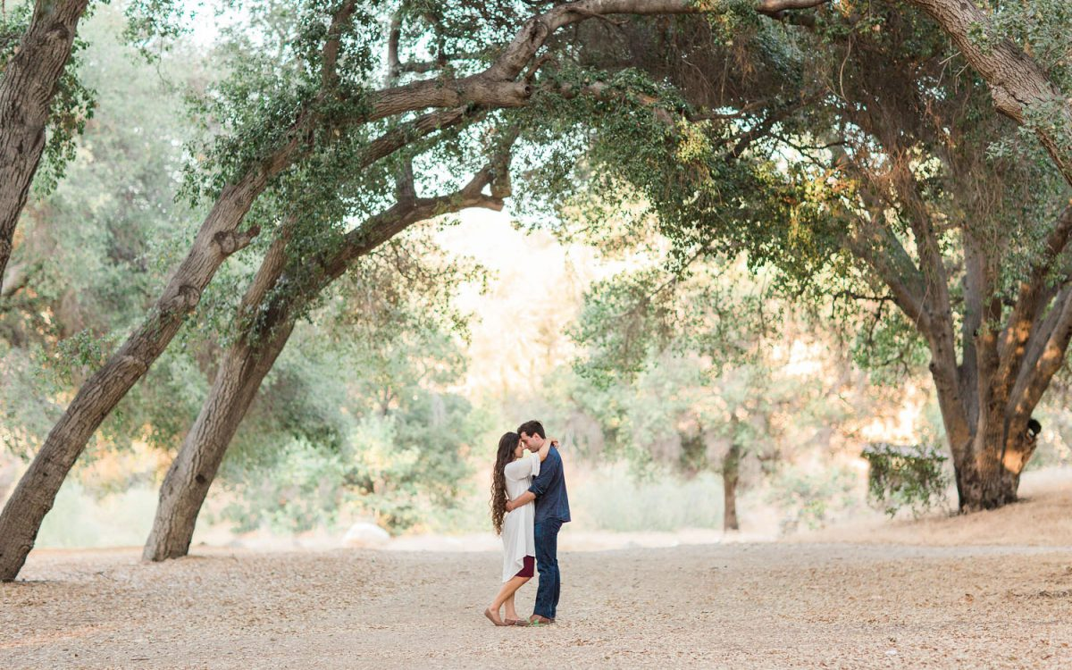 Brittany + Brett = Engaged! {Placerita Canyon Engagement Photography}