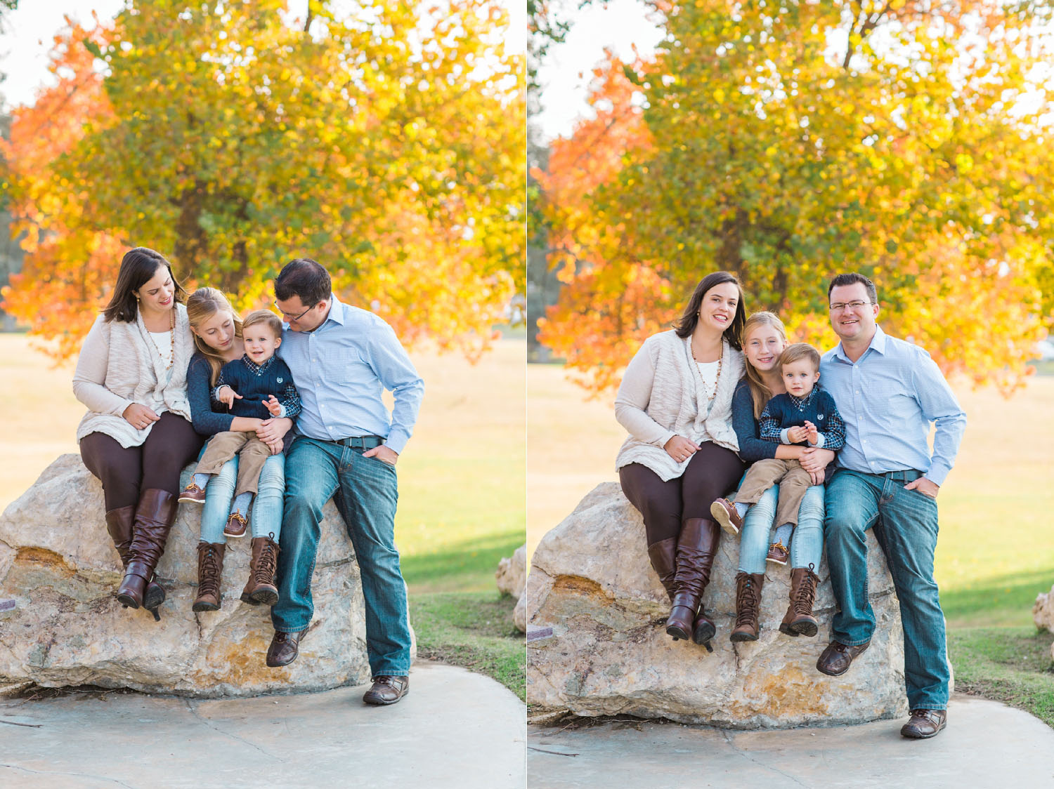 Beautiful Fall Family Photography in Bakersfield, California