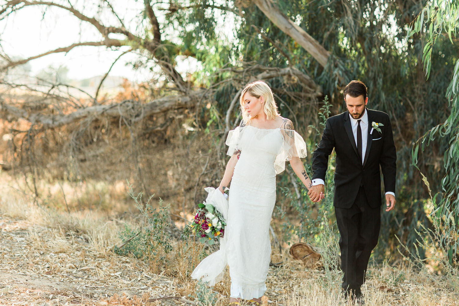 The Photege - Elegant Boho Wedding on Suburu Farm in Bakersfield California- Cassie and Darin Buoni-3013