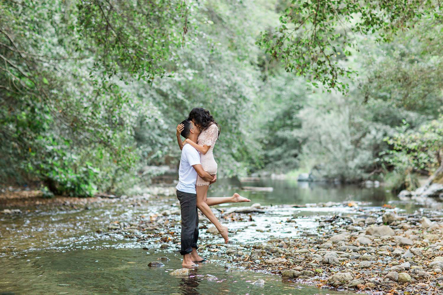 the notebook inspired engagement session in big sur