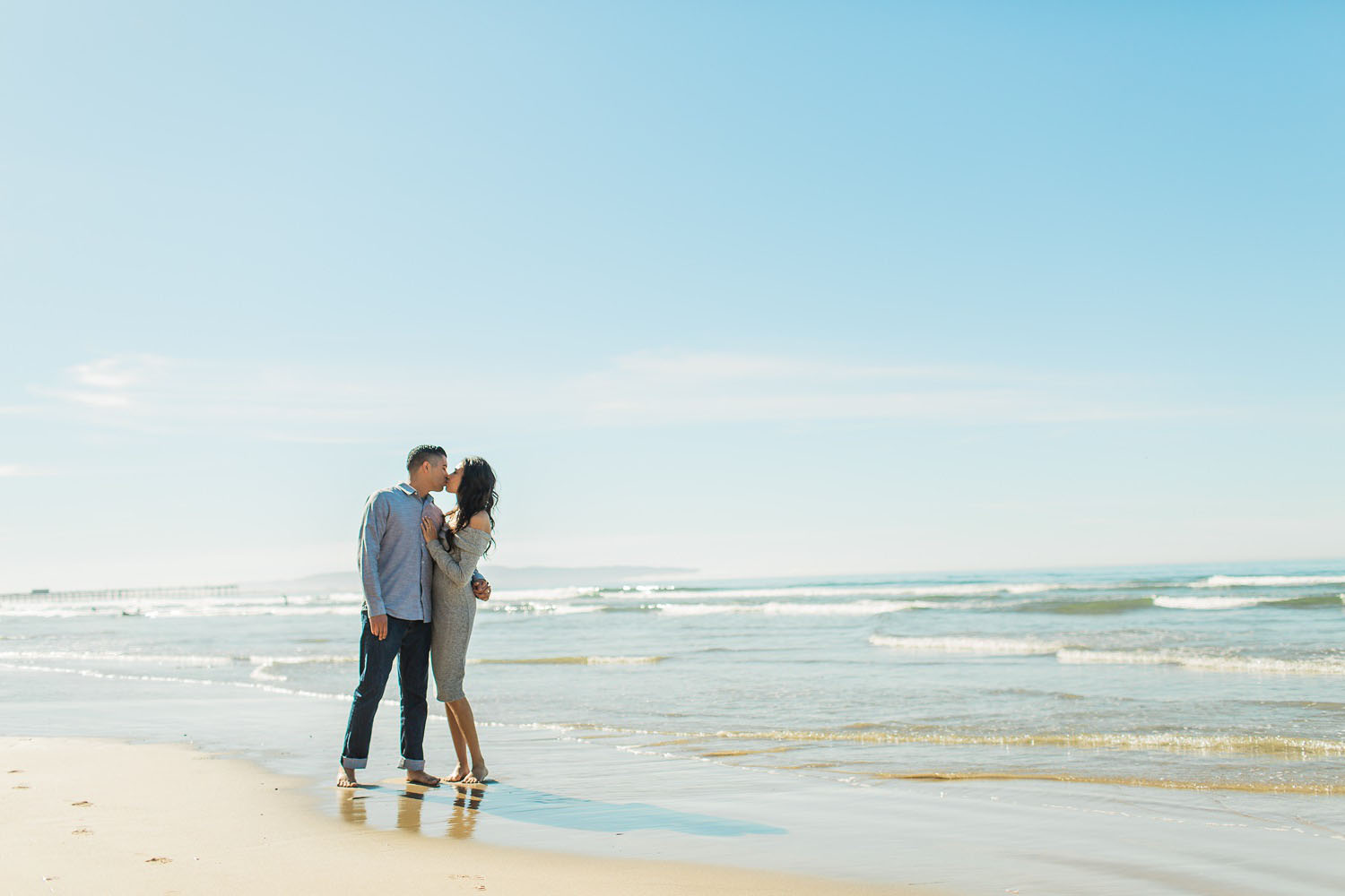 central coast california engagement session