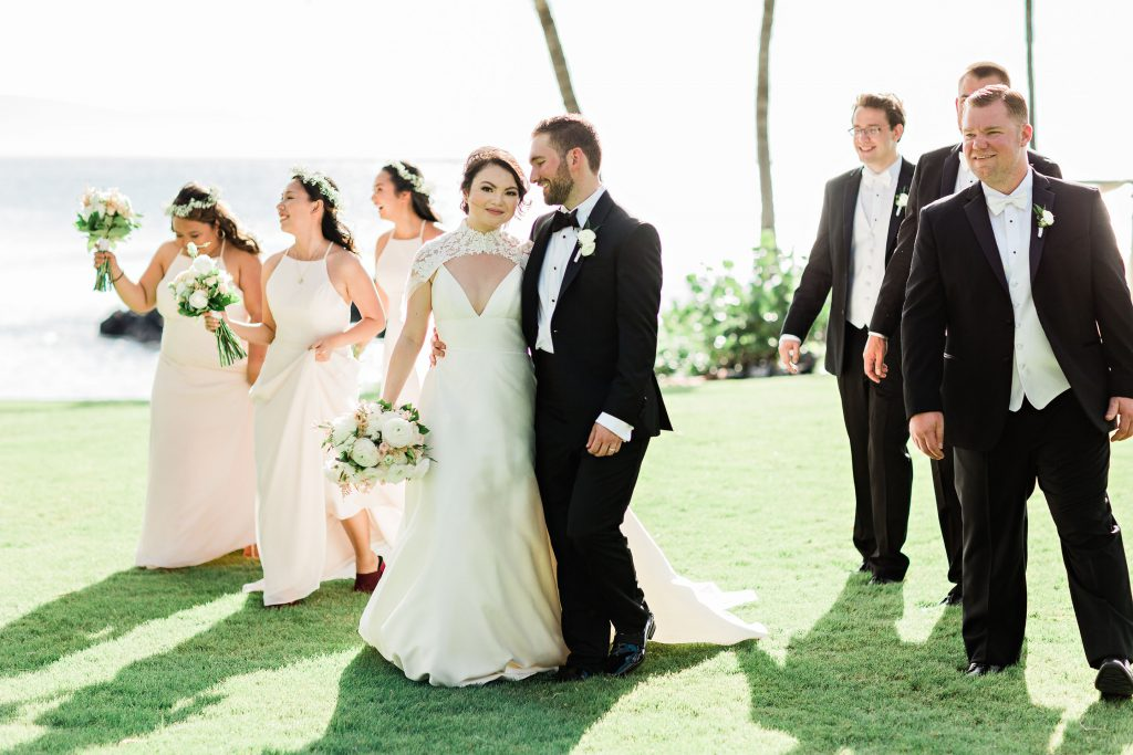 hawaii wedding, ponomakena sanctuary wedding