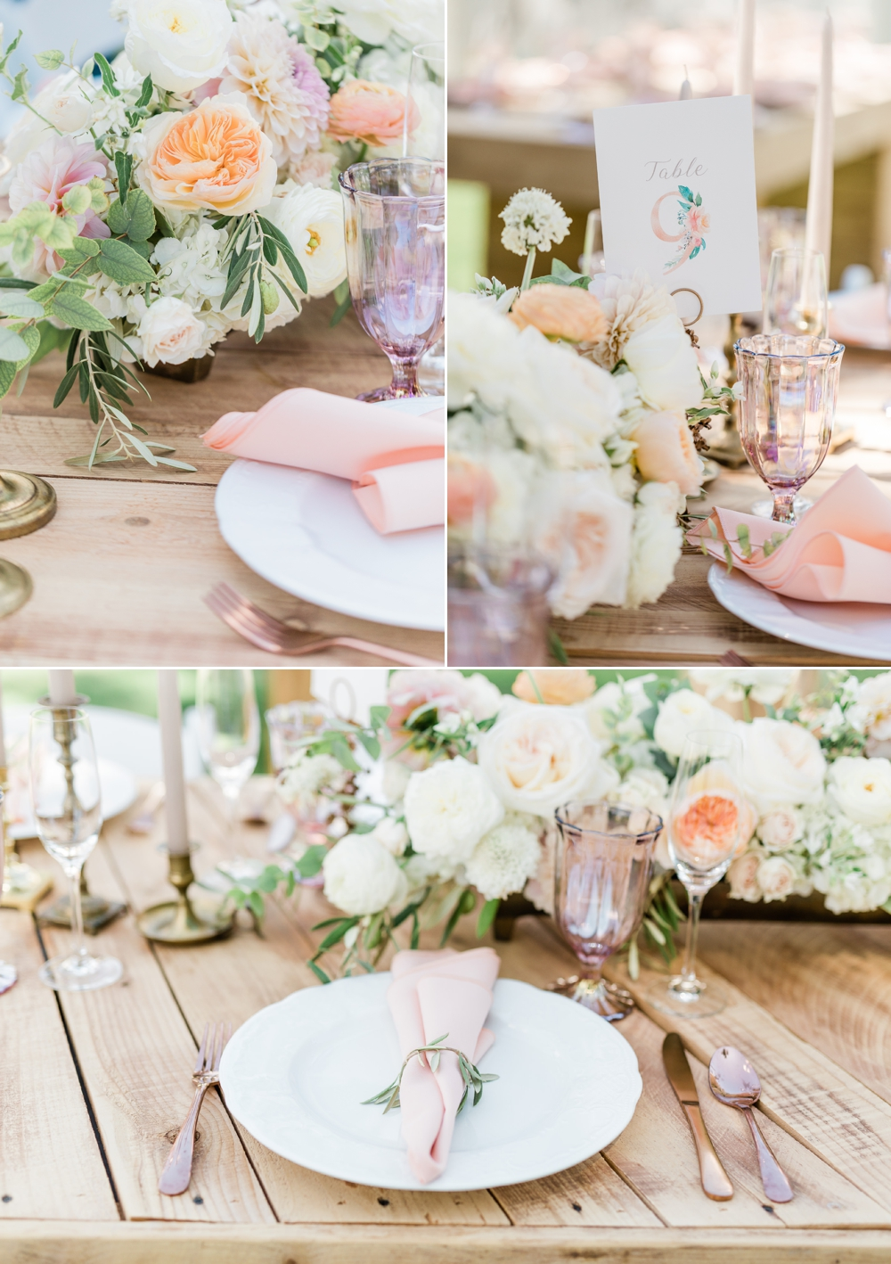 the belle rae, shannon hough events florals, blush and neutral florals