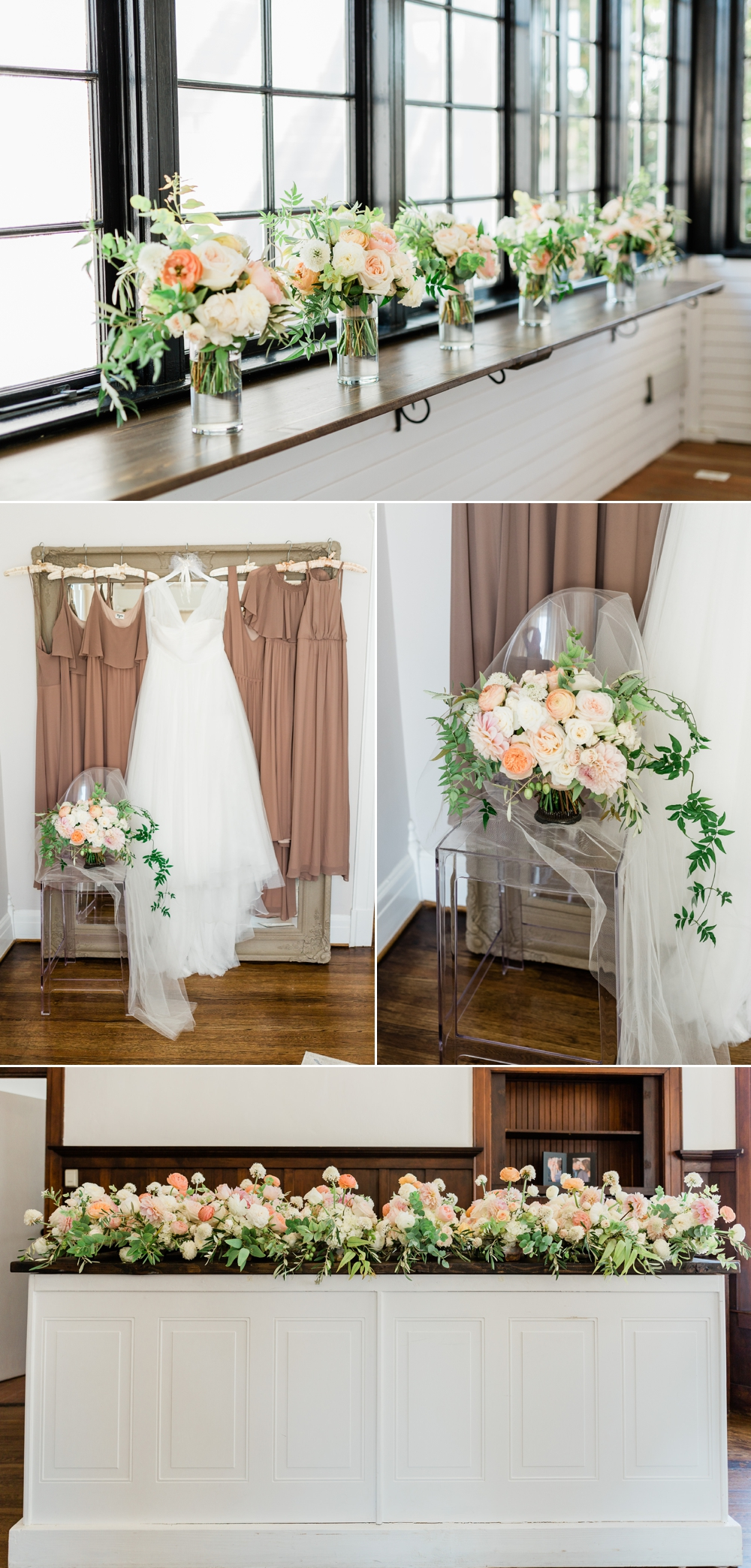 the belle rae bridal suite, bride getting ready, bride details, bridal party, bridesmaids