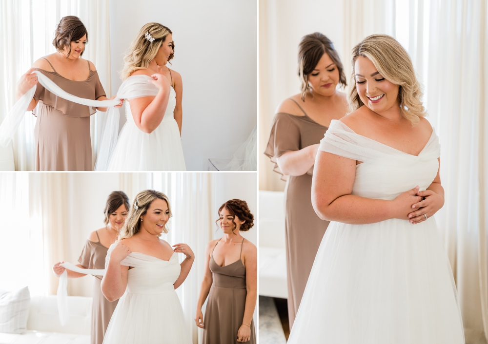 bride getting ready, bride details, bridal party, bridesmaids