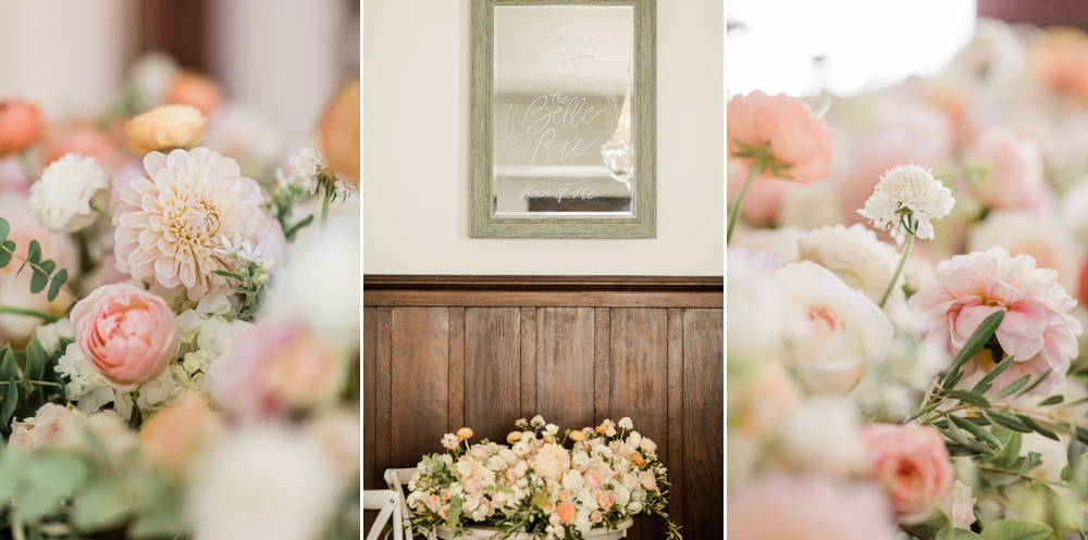 wedding flowers, wedding florist, the belle rae, shannon hough events