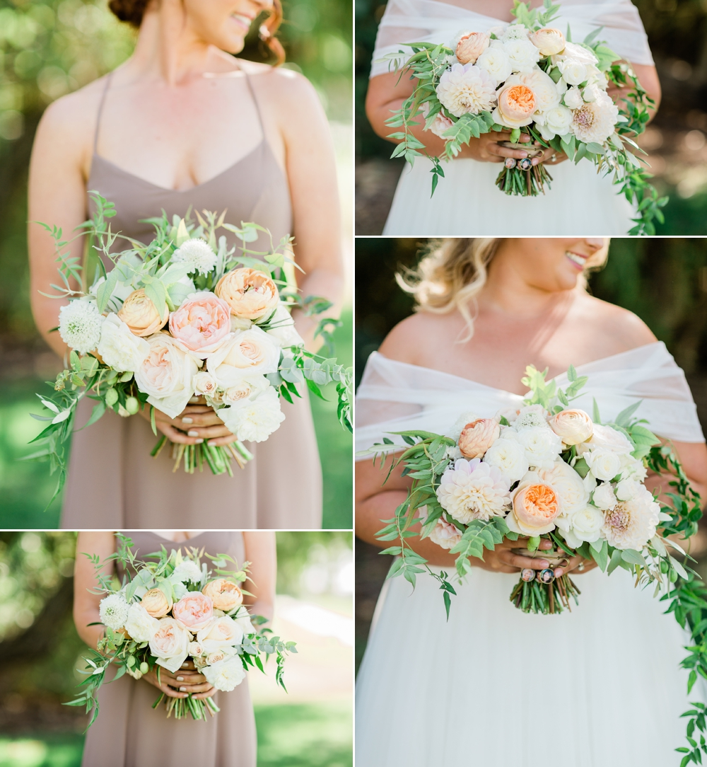 bride, bridesmaids, wedding inspiration, wedding flowers, the belle rae, shannon hough events