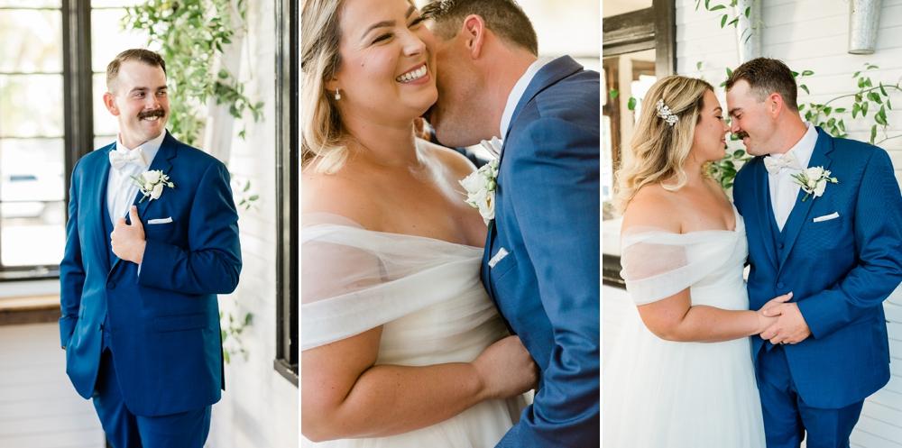 romantic wedding portraits, golden hour portraits, bride and groom portraits