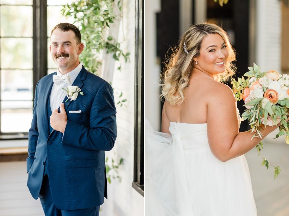 bride and groom portraits, wedding portraits