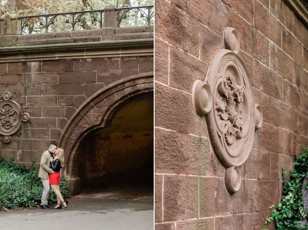 trefoil arch central park new york city
