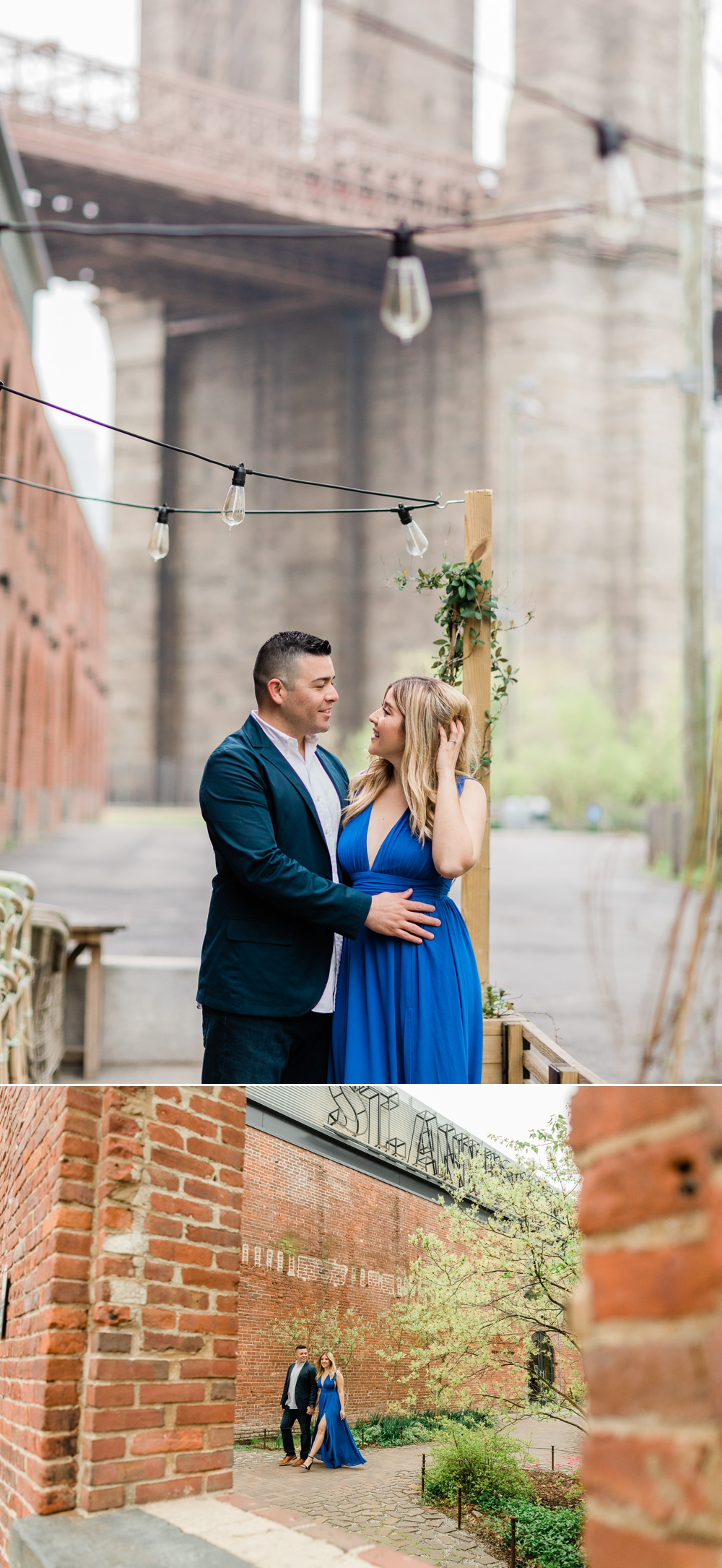 empire stores brooklyn nyc engagement session