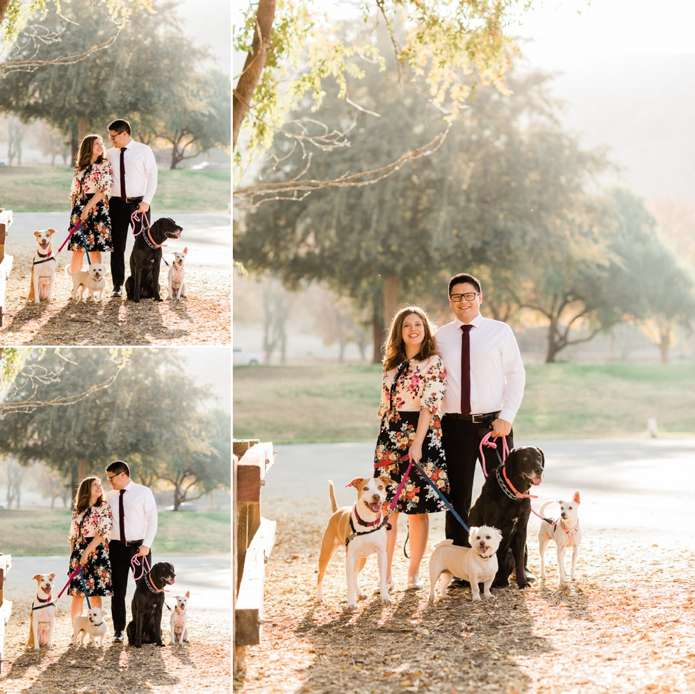 hart park bakersfield engagement session